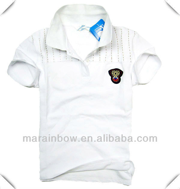 top quality custom cotton 2013 fashion style polo shirt for men
