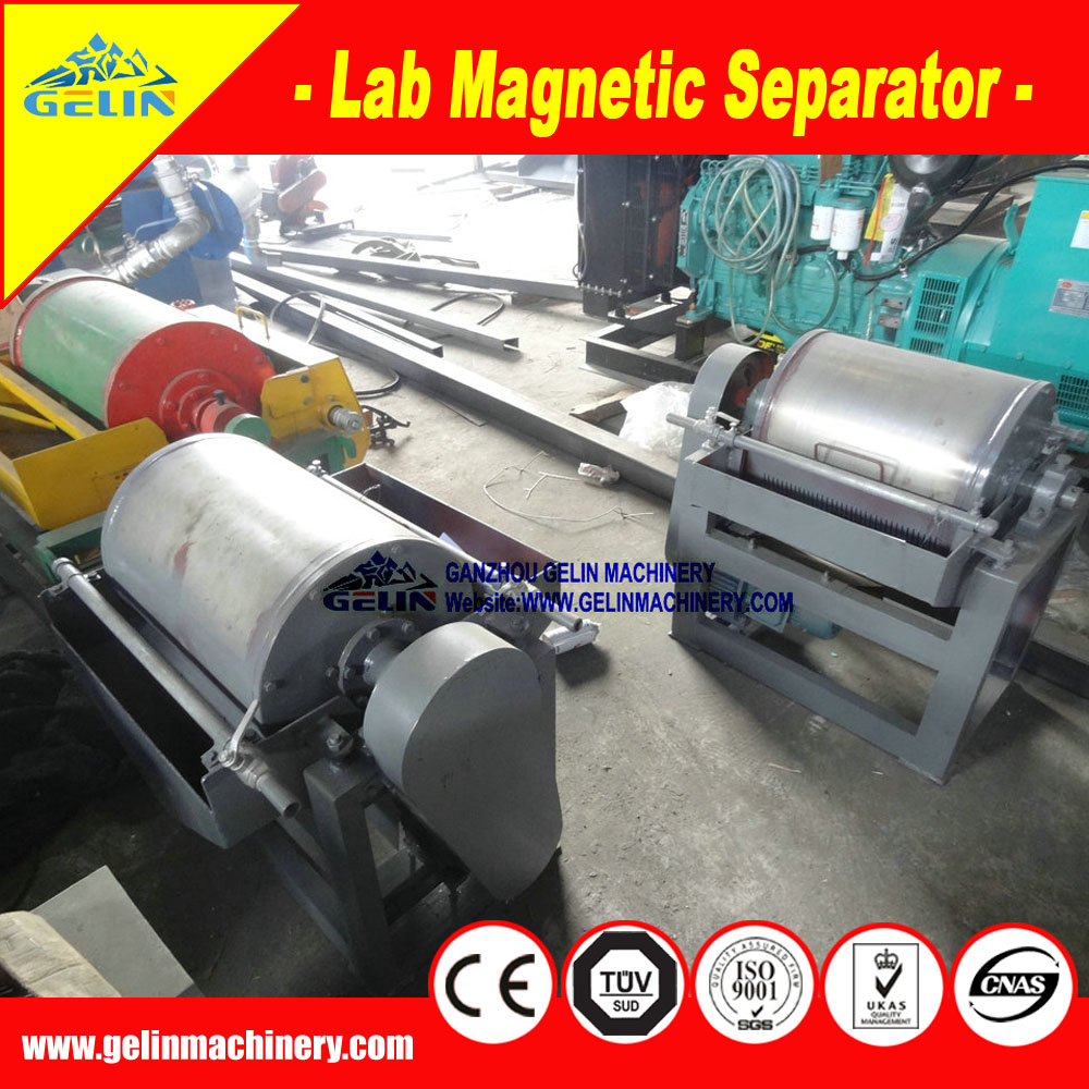 Widely used wet magnetic separation / permanent Lab Magnetic Separator / calcined ore