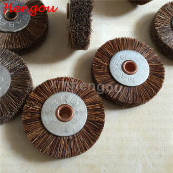 Copper komori manroland brush brush wheel for printing machine stainless steel size 45x6 new with high quality
