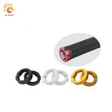 Bike handle grips the lock ring Alloy bicycle handlebar lock on gasket