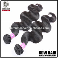7A Christmas Virgin Hair Brazilian Human Hair Extension