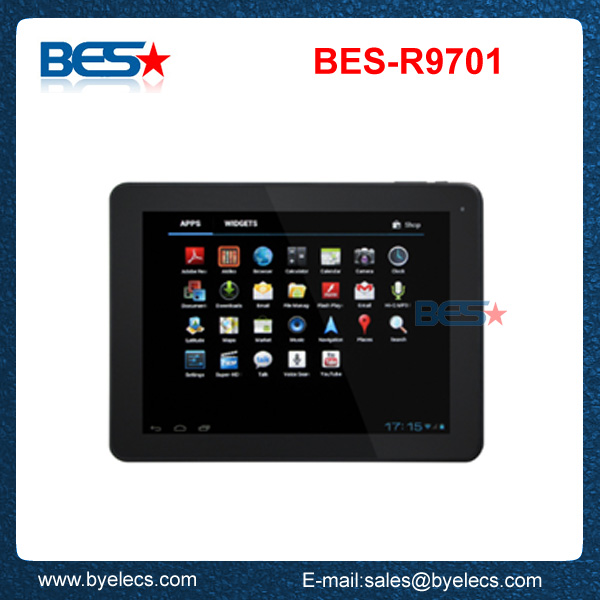 Christmas gift Rockchip 3066 dual core 9.2 inch android tablet pc