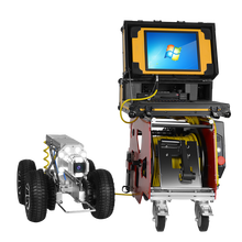 Underwater 360 degree Auto PTZ sewer pipe robot crawler |pipe inspection robot | inspection camera for underground detection