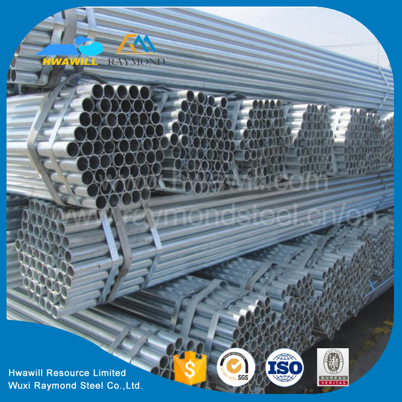 ASTM A53, BS1387, DIN2244 ERW Black / Galvanized / oil coated GB Welded Steel Pipes / Tube