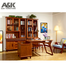 Solid Wooden Cube Commercial Bookcase for Study Room Furniture
