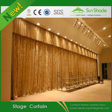 Electric Remote Control Theatre Velvet Stage Curtain