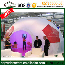 Tent Manufacturer China Geodesic Dome Half Sphere Tent For Exhibition