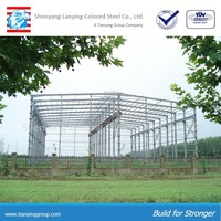 light portal frame steel structure