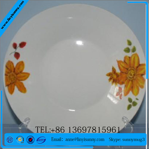 commercial dinnerware sets white/designer dinner show plates/dinnerware catering sets