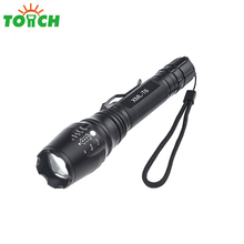 Alibaba best seller high quality led flash lights rechargeable battery powered 2000 lumen t6 leds zoomable lantern torch lights