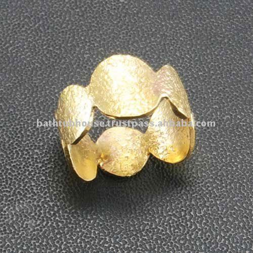 brass solid metal ring