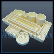 500ml Corundum-mullite Alumina Crucible For Melting Steel