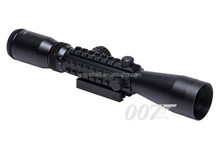 New Arrival Tactical 3-9x40E Rifle Scope Red and Green illuminated Tri-rail Mounts Weaver-Picatinny Rail Riflescopes HT6-0016
