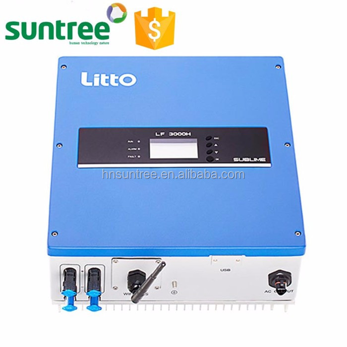 High quality hot sale 60-450V 2000w hybrid solar power inverter