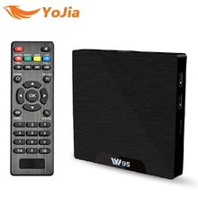 Android 7.1 TV Box 2GB 16GB Amlogic S905W Quad Core 2.4G WiFi H.265 4K 30fps VP9 Media Player 2GB/8GB 1GB/8GB W95 IPTV