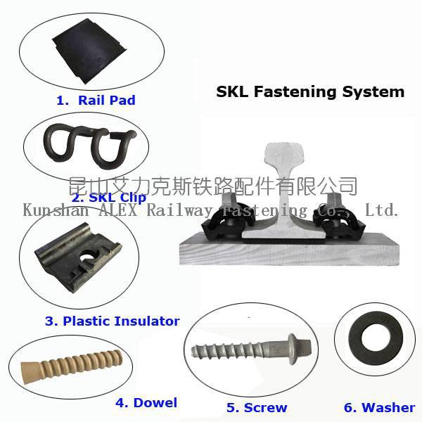 Railway Plastic Screw Dowel for Sleeper ,Plastic HDPE socket for Concrete Sleeper