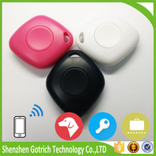 2016 new products child pet anti-lost alarm bluetooth remote control self-timer and gps key finder
