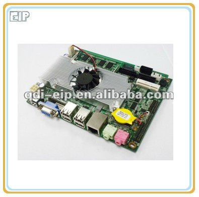 3.5 industrial Motherboard With 1 * Mini PCI-SATA,1*Mini PCI-E 1*SIM,2*SATA Mini Industrial Motherboard EIP-Atom D52