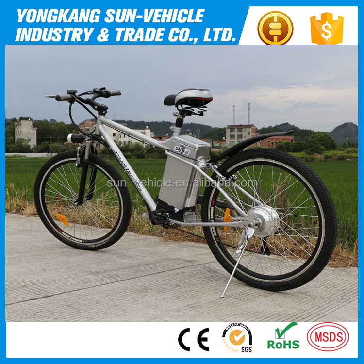 China cheap electric mountain bicycle