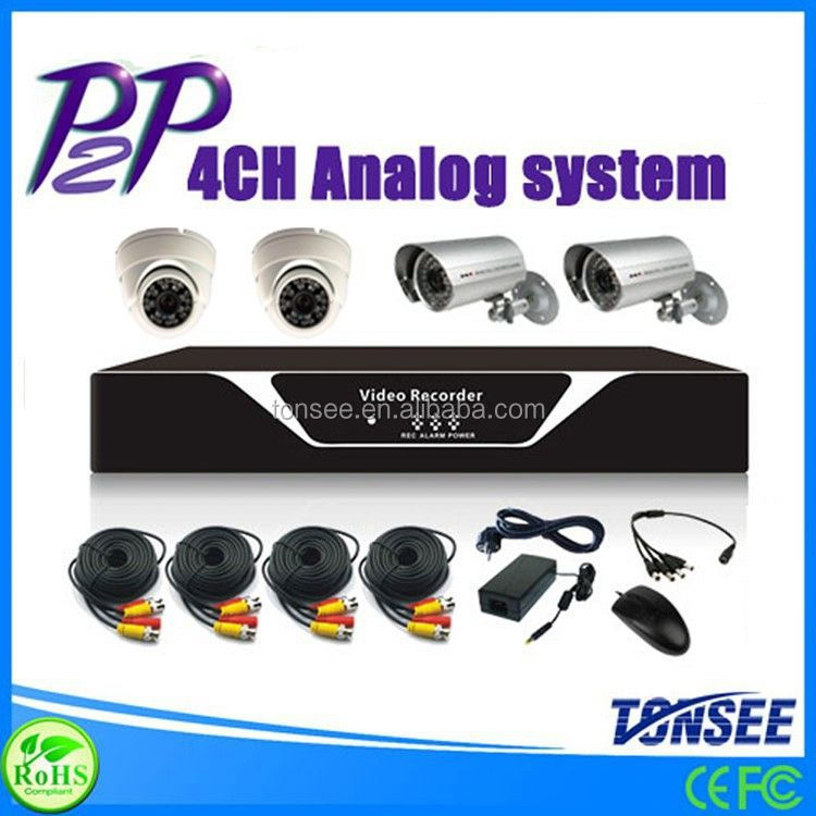 security system,8/4ch cctv dvr kit,camaras for home/hotel security