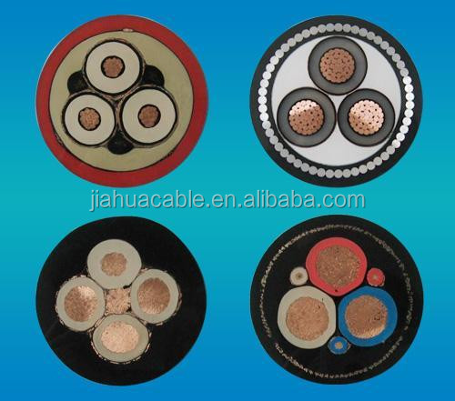 Copper conductor XLPE Insulation PVC Sheath Power Cable