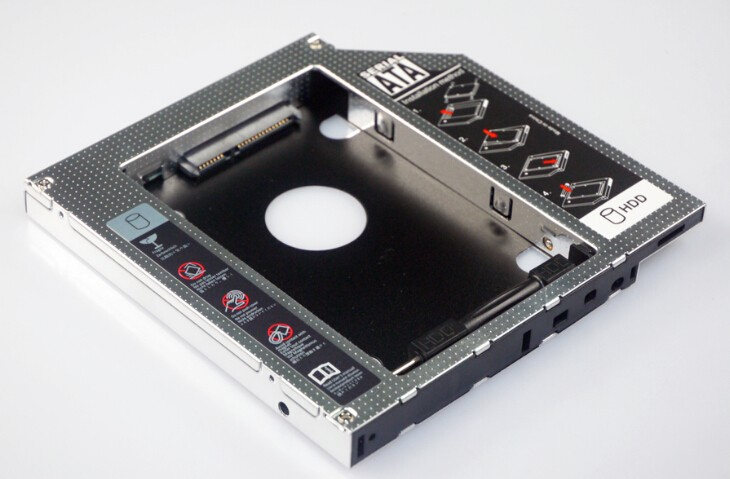 HDD caddy with screwdrive and SSD HDD buckle two in one