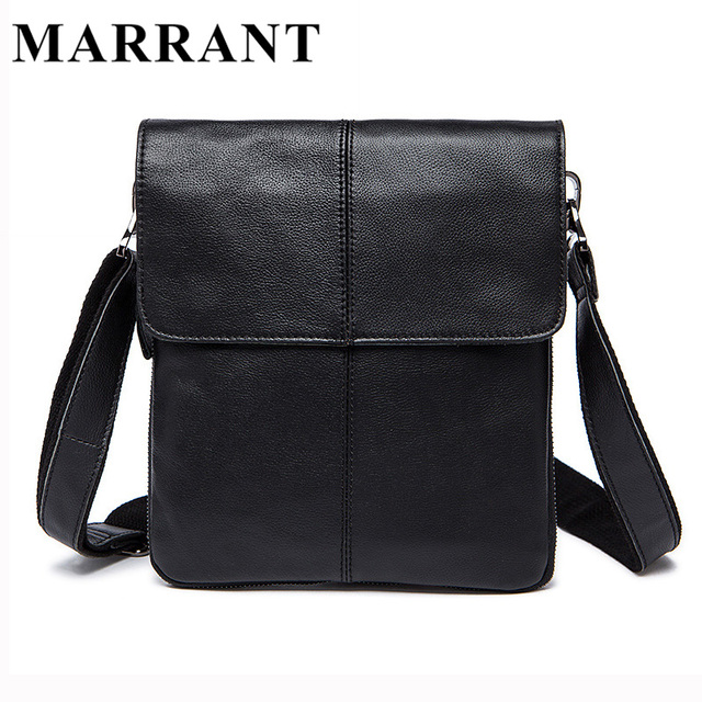 MARRANT Hot Sale Male Bag Genuine Leather Men's Messenger Bags Men Casual Crossbody Shoulder Bags Man Fashion Travel Bag 8006