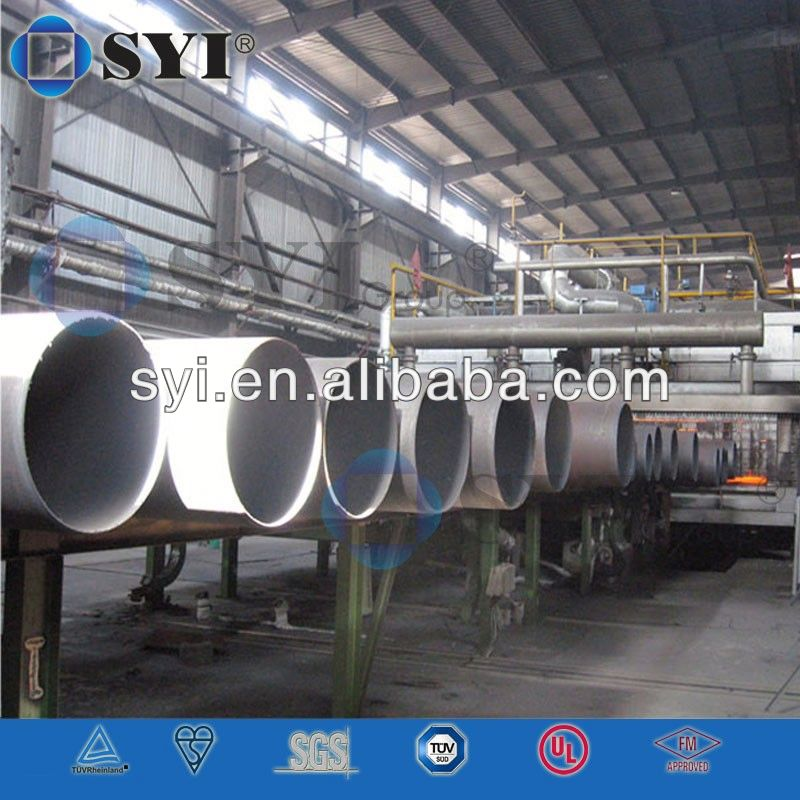 iso2531 cement lined ductile iron pipe of SYI Group