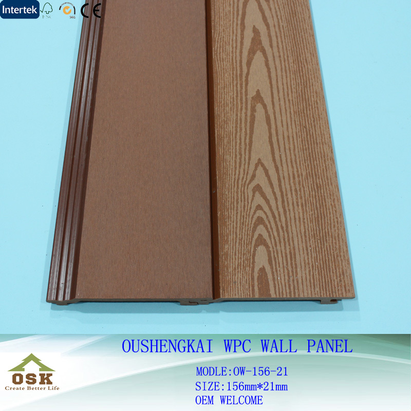 China Good Quality WPC Wall Panel for Exterior Wall Cladding