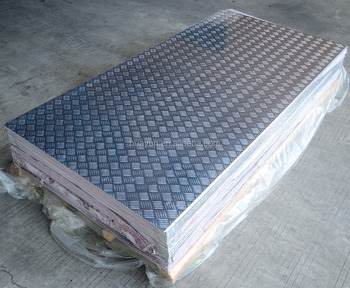 3000 Series 5000 Series Aluminum Checkered Plate for Anti-slipping Floor