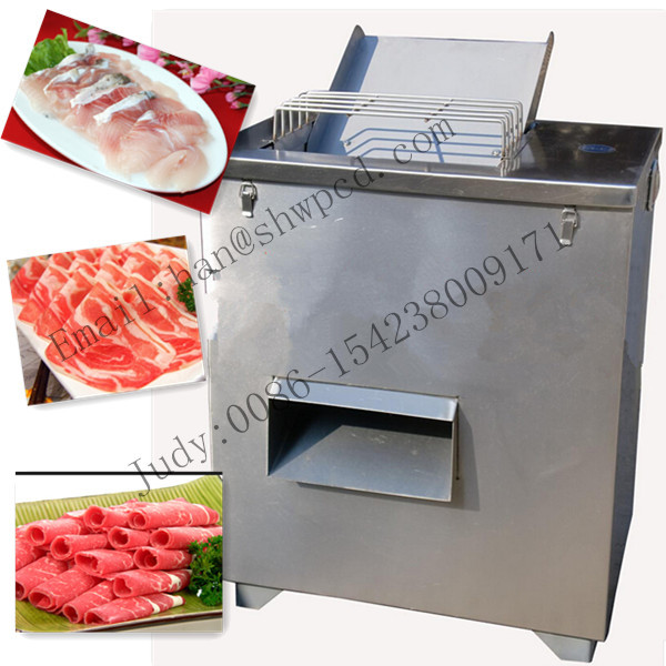 full Stainless steel automatic fresh meat slicing machine fish slicer price