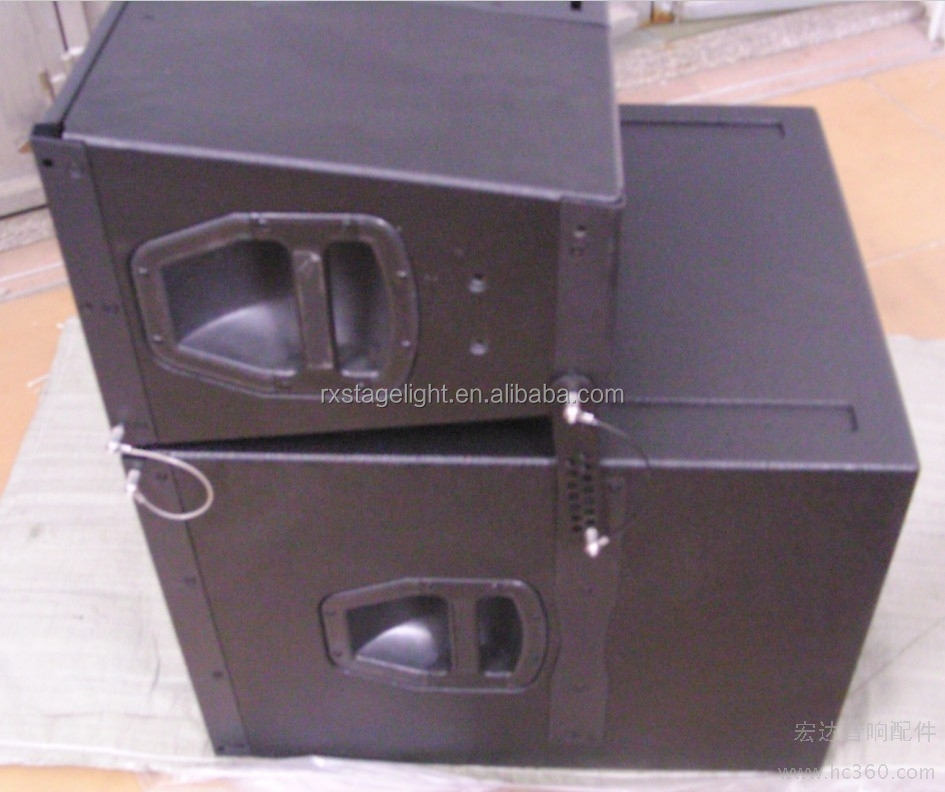800W DUAL 10 inch Stereo PA System Line Array Big Speakers Professional/ dual 10 inch audio Q1 line array