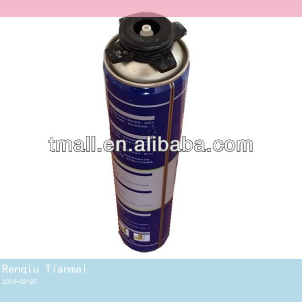 750ml General Purpose Waterproof PU Foam Sealant Spray Foam Insulation Polyurethane Foam Manufacturer