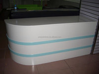wholesale modern shop reception counter design