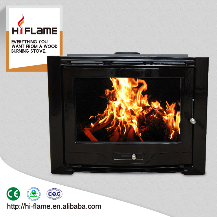 Factory Direct Selling Extra Large Cast Iron insert wood fireplace insert wood stoves HF577IU7 Black