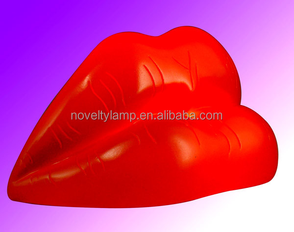 4.5'' battery red lips light