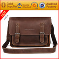 China wholesale high quality popular leather messenger bag men