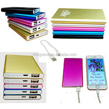 Slim Portable Pocket External Battery Power Bank Charger 4000mAh Mobile Phone bank