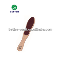 Hot New Wooden Sandpaper Pedicure Foot File