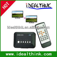 720p HD Multi Media Movie Center RM/RMVB/AVI/MPEG/MP3/MP4 TV Player USB SD/MMC