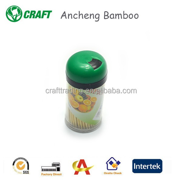 Factory fancy wooden toothpick manufactuer