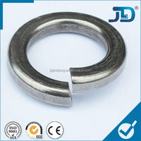 round shape steel lock washer
