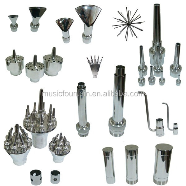 Wholesale high quality stainless steel music dancing fountain nozzle