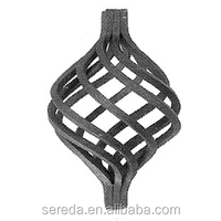 Ornamental wrought iron cage