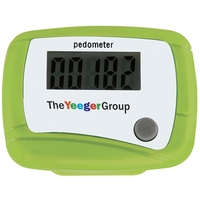 Free Pedometer Wholesale with Belt Clip/plastic mini digital passometer green in heart shape pedometer