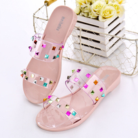 2017 China Flat Fancy Ladies Woman Sandals New Design
