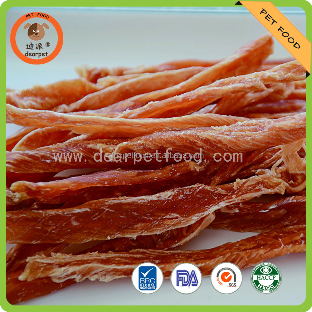 Dried Duck jerky dog treats pet snack