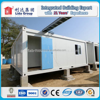 Sandwich Panel steel structure Container house/sandwich panel house 20FT container house container living homes