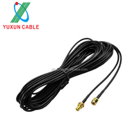 RP SMA Male To Female Coaxial RG174 Extender Antenna Cable