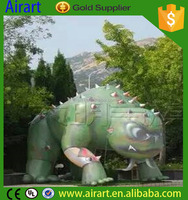 For forest park decor bloodcurdling dinosaur inflatable balloon,giant inflatable dragon